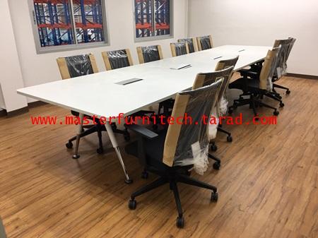 โต๊ะประชุมรูปทรงสี่เหลี่ยมขาตะเกียบ 1