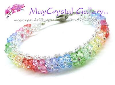 คริสตัลแบรนด์แท้ คริสตัลผลิตจากยุโรป (Embellished with Crystals from Austria) ส่งพร้อม TAG สินค้า