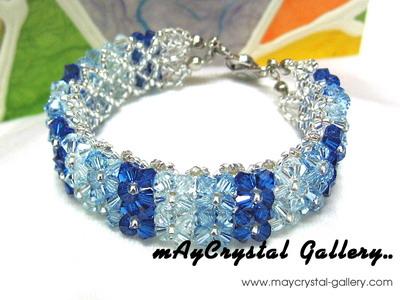 สร้อยข้อมือ คริสตัลแบรนด์แท้ คริสตัลผลิตจากยุโรป (Embellished with Crystals from Austria) ส่งพร้อม T