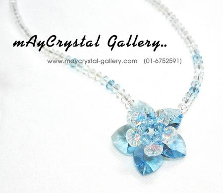 สร้อยคอ คริสตัลแบรนด์แท้ (Embellished with Crystals from Austria)