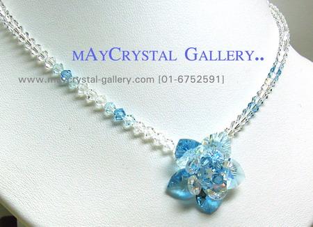 สร้อยคอ คริสตัลแบรนด์แท้ (Embellished with Crystals from Austria) 2