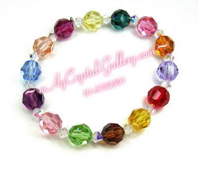 สร้อยข้อมือ คริสตัลแบรนด์แท้, คริสตัล Swa จากประเทศออสเตรีย (Embellished with Crystals from Austria)