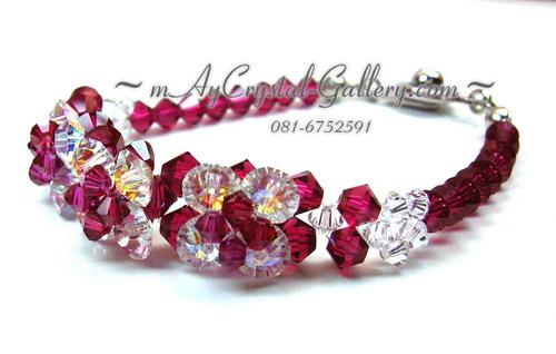 คริสตัลแบรนด์แท้ (Embellished with Crystals from Austria)