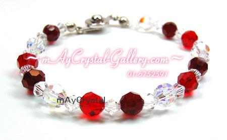 ข้อมือ คริสตัลแบรนด์แท้ (Embellished with Crystals from Austria)
