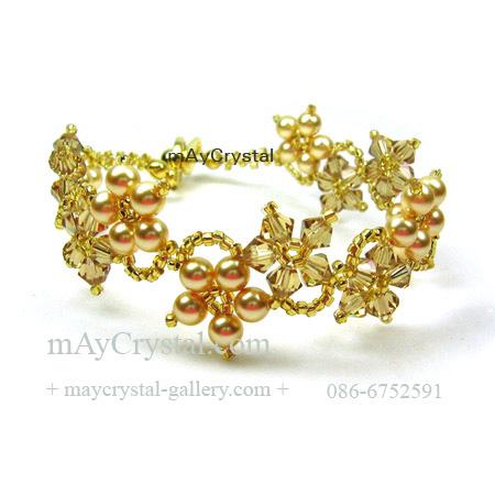 สร้อยข้อมือ คริสตัลแบรนด์แท้ (Embellished with Crystals from Austria)