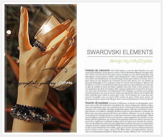 New Arrivals สร้อยข้อมือ คริสตัลแบรนด์แท้ จากประเทศออสเตรีย (Embellished with Crystals from Austria)