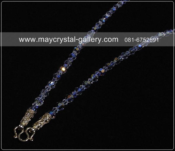 สร้อยคอคริสตัลแบรนด์แท้ (Embellished with Crystals from Presioza)