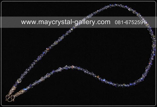 สร้อยคอคริสตัลแบรนด์แท้ (Embellished with Crystals from Presioza) 1