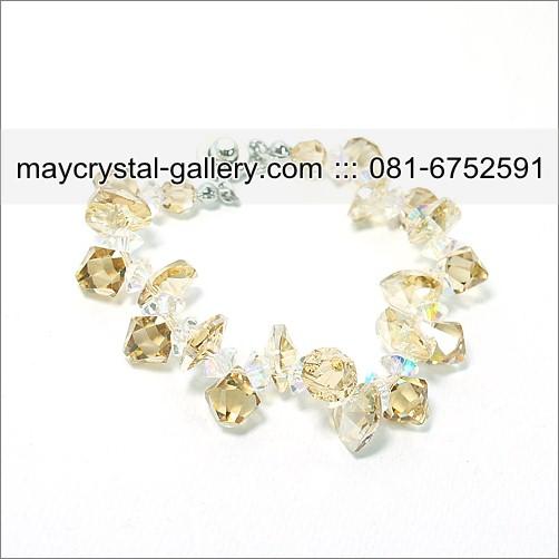 สร้อยข้อมือ คริสตัล คริสตัลแบรนด์แท้ (Embellished with Crystals from Austria)