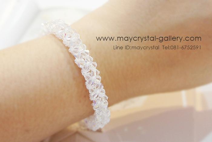คริสตัลแบรนด์แท้ จากยุโรป (Embellished with Crystals from Austria)