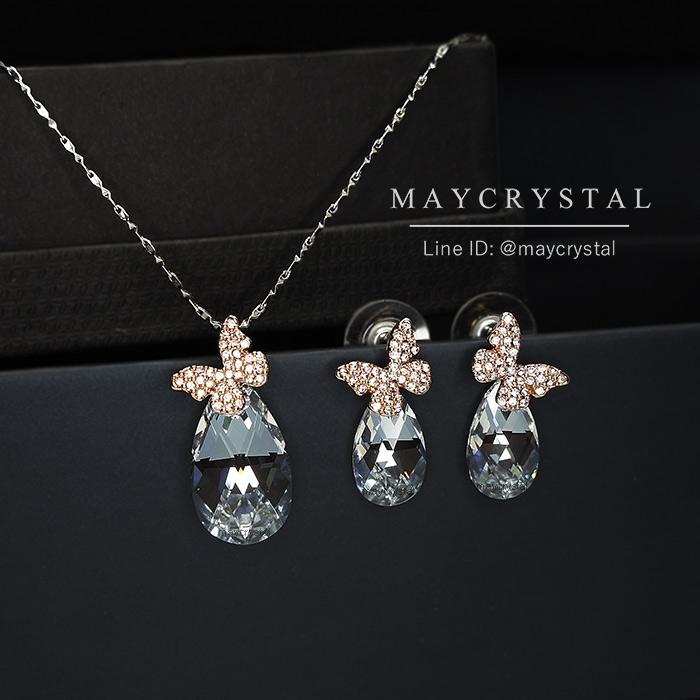 ชุดเครื่องประดับ คริสตัลแบรนด์ จากประเทศออสเตรีย (Embellished with Crystals from Austria)