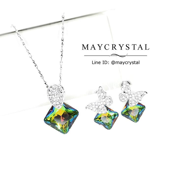 ชุดเครื่องประดัับ คริสตัลแบรนด์ จากประเทศออสเตรีย (Embellished with Crystals from Austria)