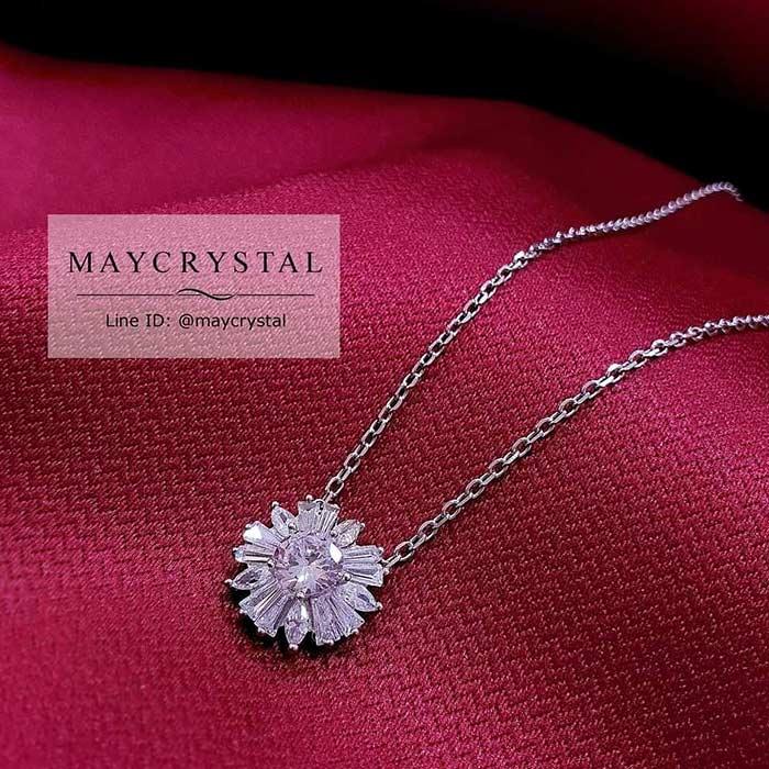 สร้อยคอคริสตัล แบรนด์แท้ จากประเทศออสเตรีย (Embellished with Crystals from Austria) 1