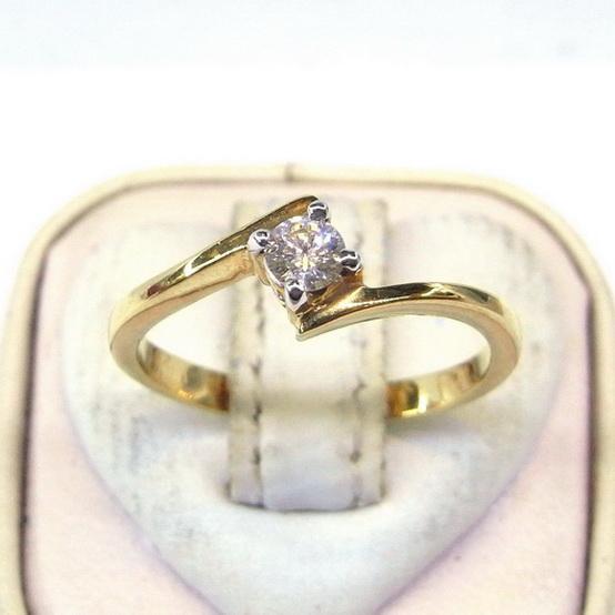 แหวนเพชรแท้ดีไซน์น่ารัก