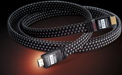 สายสัญญาณ HDMI-1 flex flat v1.4 ความยาว 1.8 เมตร รองรับ3D 2160p 15.8 Gbit/s (4k x 2k)