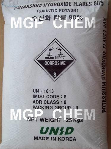 โปแตสเซี่ยม ไฮดรอกไซด์, โปตัสเซี่ยม ไฮดรอกไซด์, Potassium Hydroxide