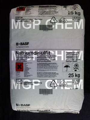 โซเดี่ยม เมตต้าไบซัลไฟท์, Sodium Metabisulfite