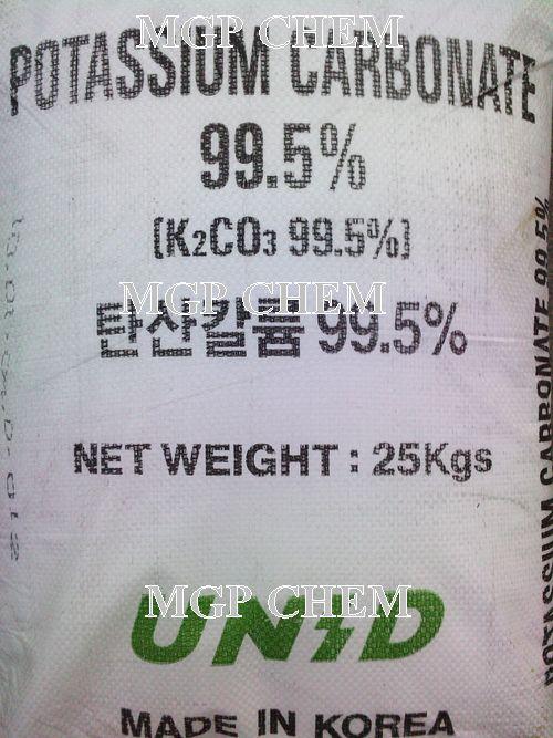 โปแตสเซี่ยม คาร์บอเนต, โปตัสเซี่ยม คาร์บอเนต, Potassium Carbonate