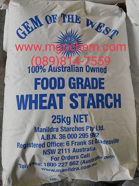 วีท สตาร์ช, แป้งข้าวสาลี, Wheat Starch