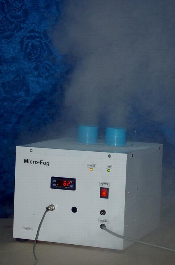 เครื่องทำหมอก เครื่องทำความชื้น Ultrasonic Humidifier พร้อมเครื่องควบคุมความชื้นในตัว รุ่น H310H