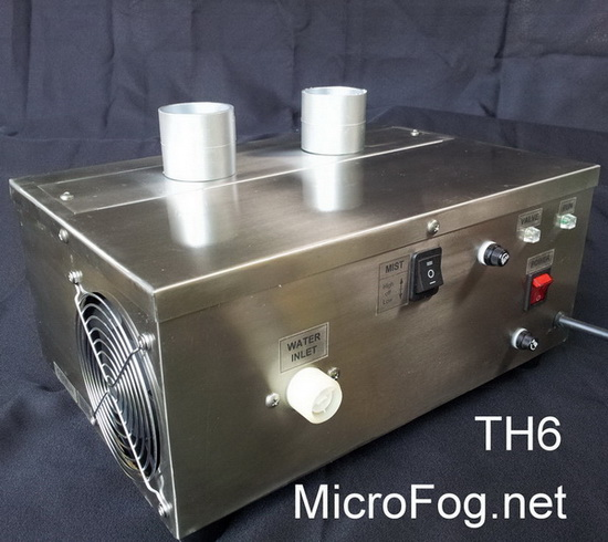 เครื่องทำหมอก เครื่องทำความชื้น รุ่นTH6
