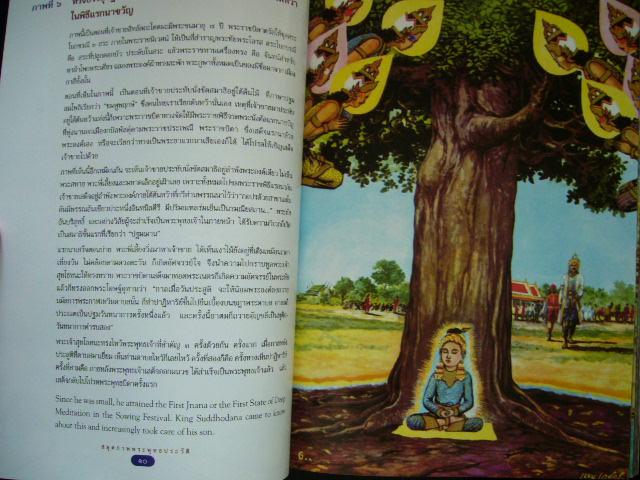 สมุดภาพพุทธประวัติ ฝีมือ เหม เวชกร(ภาพสี) 4