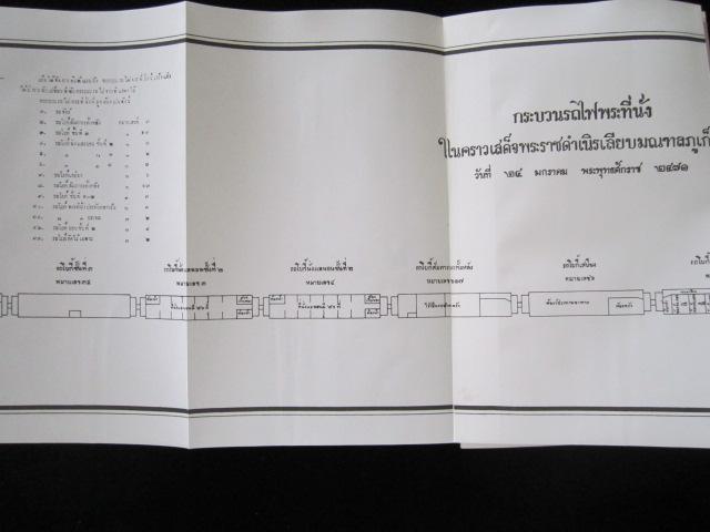แผนที่ ทางรถไฟหลวงแห่งกรุงสยาม จากกรุงเทพ พัทลุง กันตัง 2