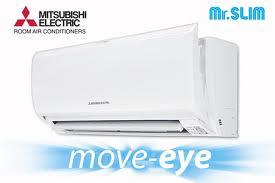 แอร์,เครื่องปรับอากาศ MITSUBISHI ELECTRIC รุ่น ( MOVE  EYE ) MS-SFF09VC เบอร์ 5 ขนาด 8,835 BTU