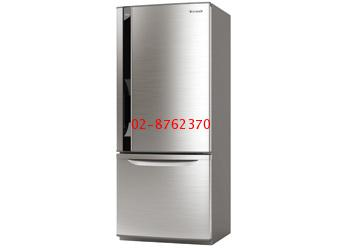 ตู้เย็นพานาโซนิค  2 ประตู NR-BW465V-N (407 ลิตร/ 14.4 คิว)