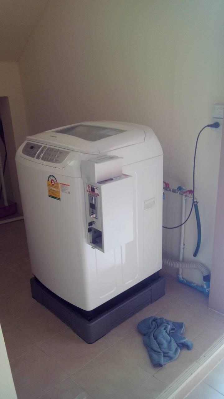 เครื่องซักผ้าหยอดเหรียญ ซัมซุง 13 กก รุ่น WA13F5S3