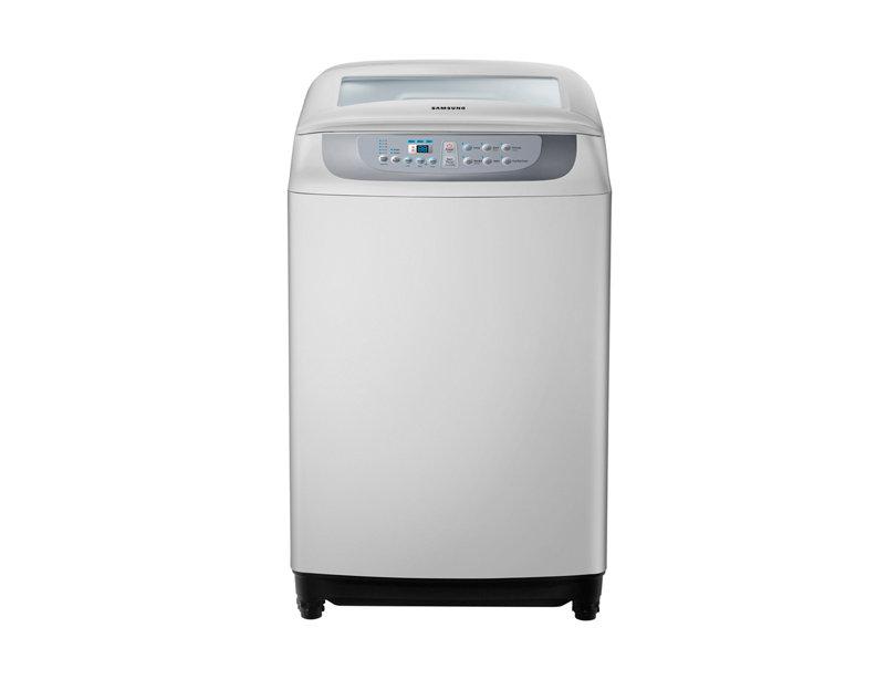 เครื่องซักผ้าหยอดเหรียญSAMSUNG WA90F5S   9 กก.สีเทาอ่อน