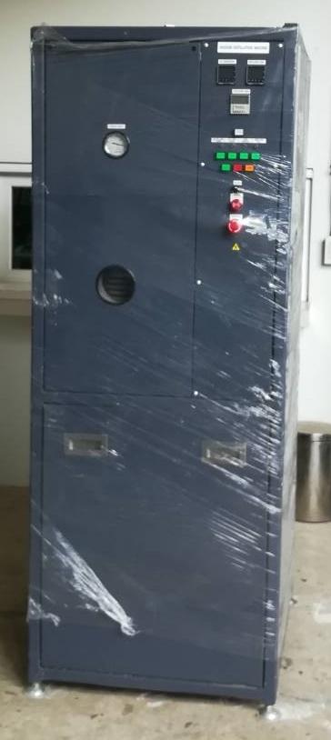 เครื่องกลั่น Hydrocarbon Solvent / Vacuum Distillation Machine
