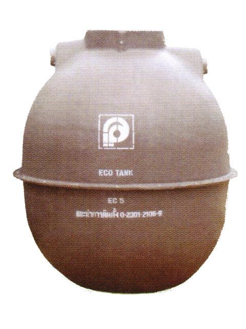 ถังบำบัดน้ำเสียไฟเบอร์ P.P. ECO TANK