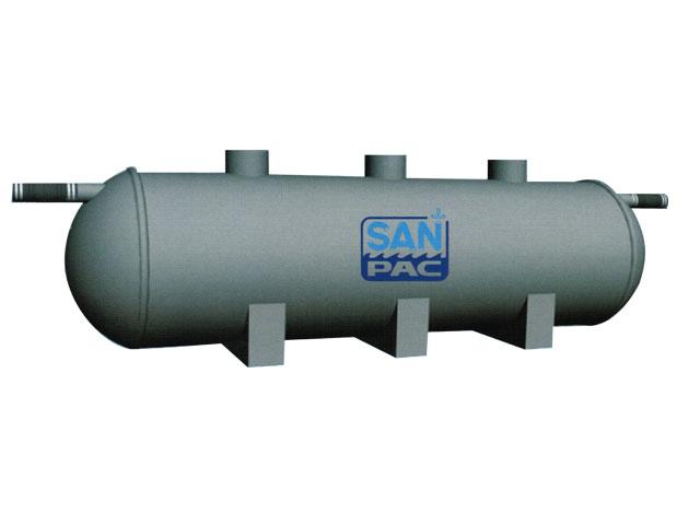 ถังบำบัดน้ำเสียรวม SANPAC BIG FIBER TANK