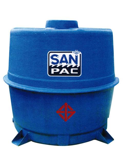ถังเก็บน้ำใต้ดินไฟเบอร์กลาส SANPAC รุ่น UGT (FRP)
