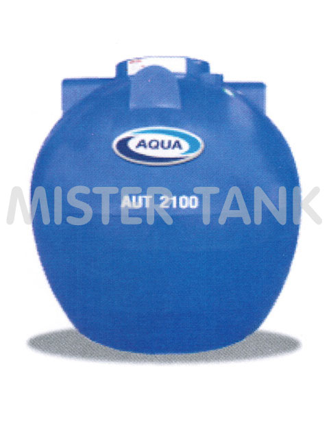 ถังเก็บน้ำพลาสติก/ P.E. ชนิดฝังดิน/ ใต้ดิน AQUA สีน้ำเงิน
