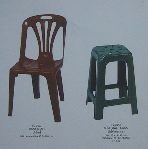 เก้าอี้ แบบมีพนักพิง