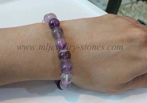 สร้อยข้อมือหิน SUPER SEVEN (ซุปเปอร์ เซเว่น)หรือ Melody \'s Stone(เมโลดี้ สโตน)ขนาด 10 มิล