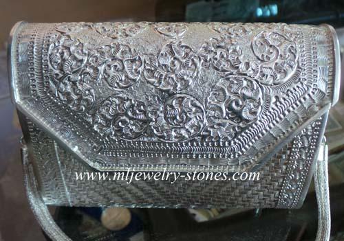 กระเป๋าเครื่องเงินแท้ 92.5(silver bags)