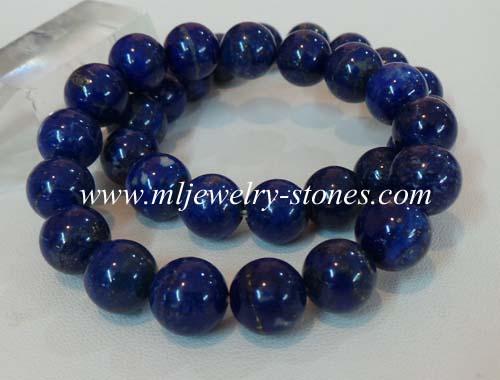 สร้อยข้อมือหินลาพิส ลาซูลี (Lapis Lazuli) 11 มิล