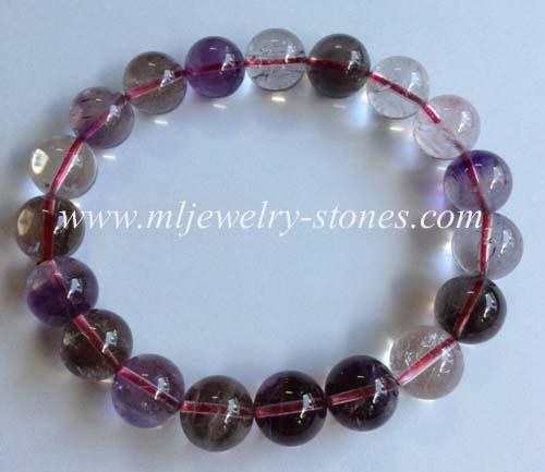 สร้อยข้อมือหิน SUPER SEVEN (ซุปเปอร์ เซเว่น)หรือ Melody \'s Stone(เมโลดี้ สโตน)ขนาด 10-11 มิล