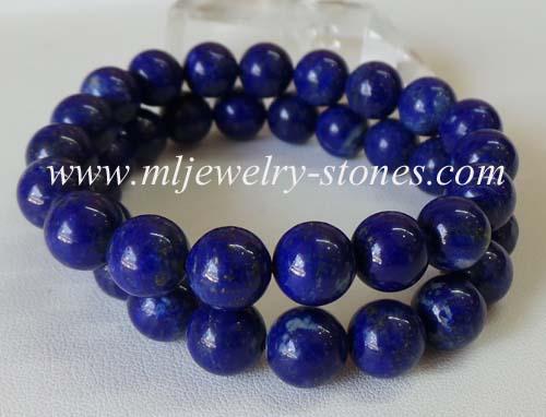 สร้อยข้อมือลาพิส ลาซูลี 10 มิล(Lapis Lazuli)
