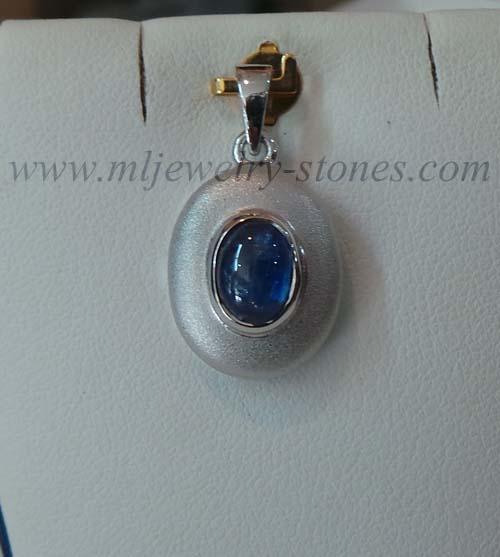 จี้พลอยไคยาไนท์(kyanite)