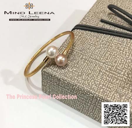 กำไลไข่มุกแท้  รุ่น The Princess Pearl Collection