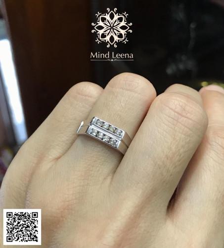 แหวนเพชรแท้เบลเยี่ยม