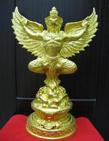 ครุฑเหยียบเงินเหยียบทอง ขนาดบูชา พระอาจารย์วราห์ วัดโพธิ์ทอง