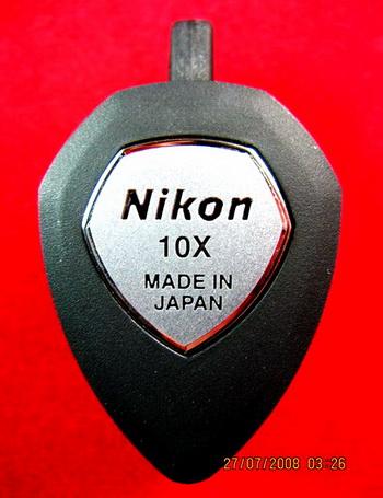 กล้องส่องพระNikon10xด้านหลังxpmadeinJapanรุ่นล่าสุด