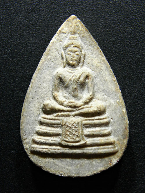 พระผงพิมพ์พระพุทธกลีบบัว หลวงปู่สิม วัดถ้ำผาปล่อง (1)