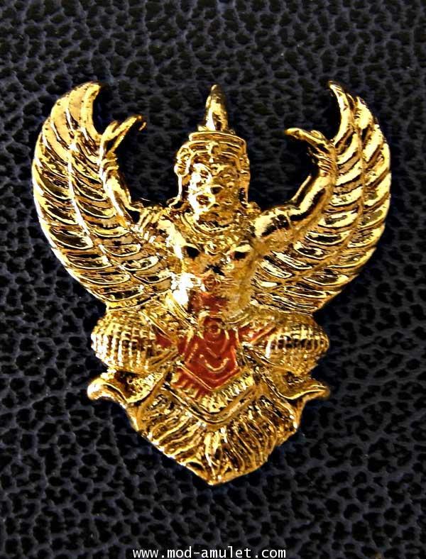 ร.5 ครุฑมหาลาภ รุ่นโคตรรวย พระอาจารย์วราห์ วัดโพธิทอง
