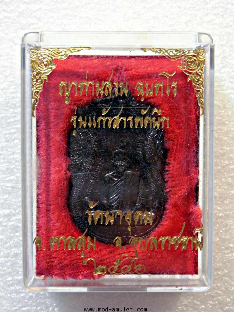 เหรียญญาท่านสวน รุ่นแก้วสารพัดนึก ปี46 (2) 2